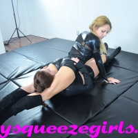 rblthr-129 SSG-VC-051 Lethal Leather Squeeze